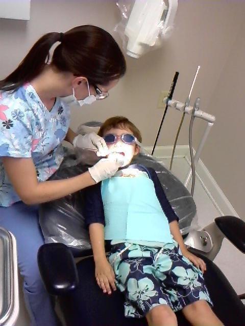 Pool + Dentist = (See Photo)